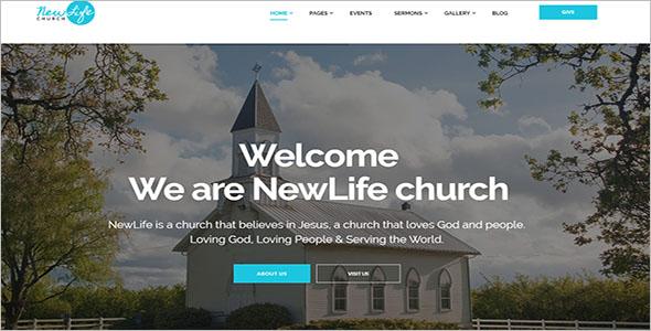 WordPress Theme For Spiritual