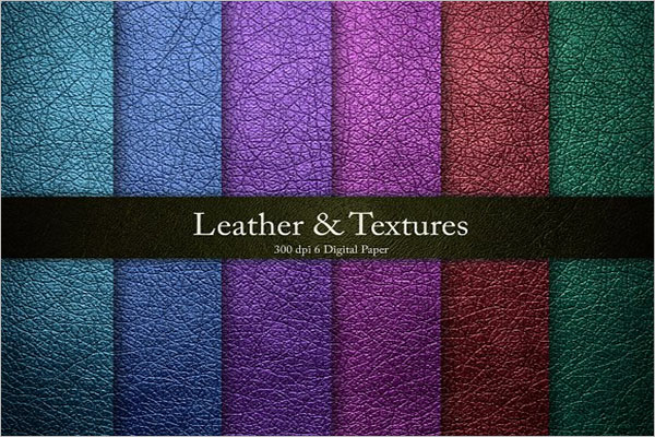 Worn Leather Texture Design