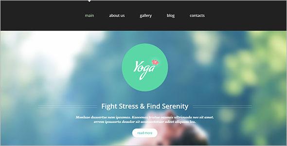 Yoga Club Joomla Template