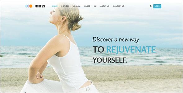 Yoga Joomla Club Template