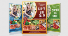 33+ Grocery Flyer Templates