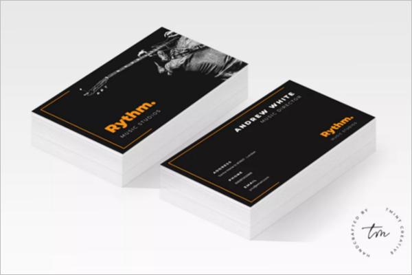 music Academy Business Card