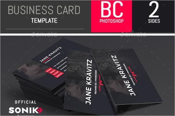 music business Card Online