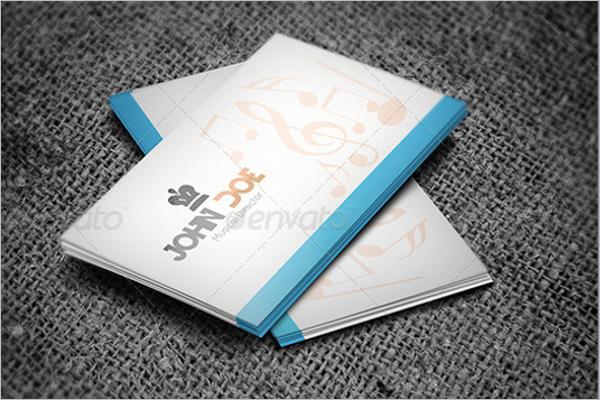 music teacher business card templates