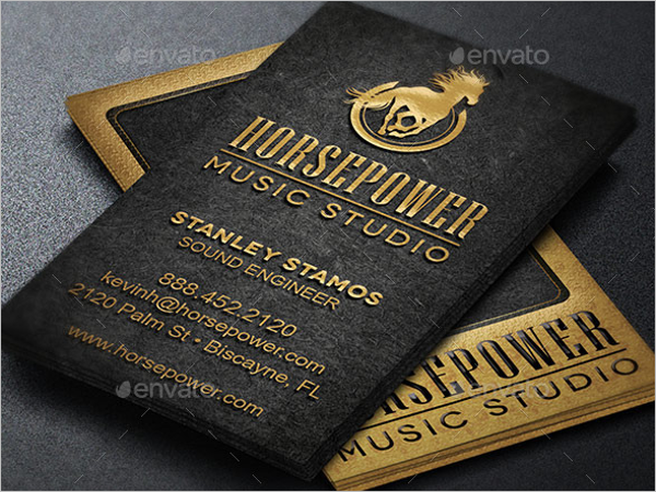 music themd business card templates