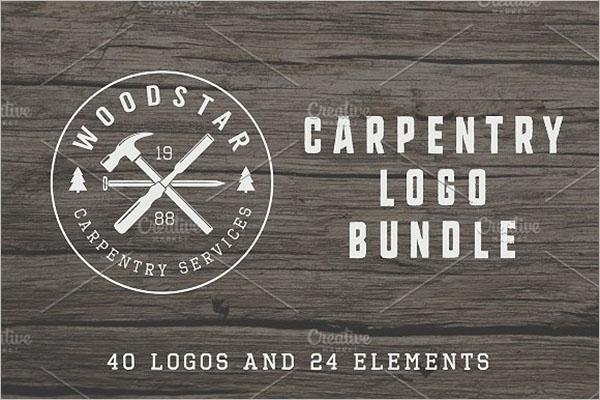 vintage carpentry Graphic Design