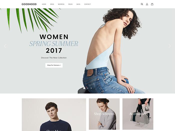GoodHood - Fashion WooCommerce Theme