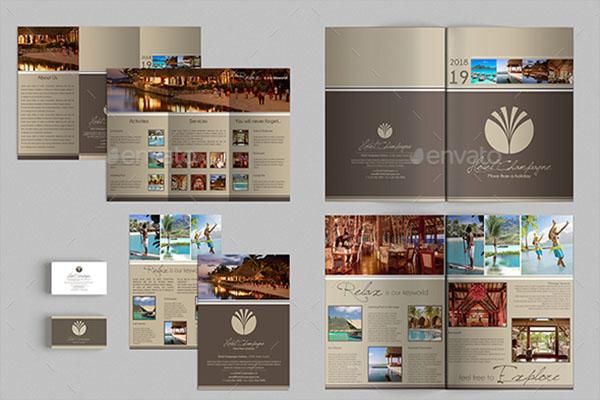 A3 Tri-Fold Brochure Template