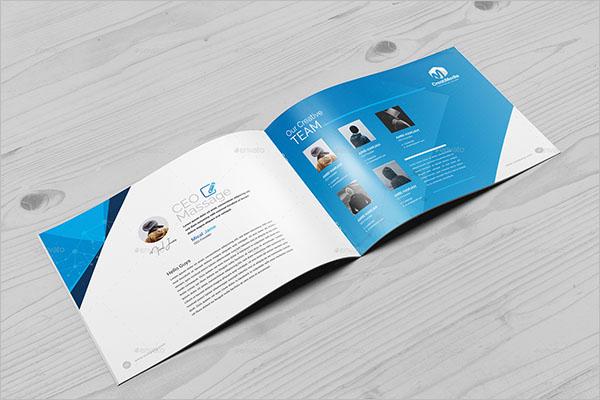 A5 Landscape Brochure Design