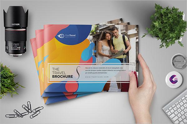A5 Travel Agency Brochure Free