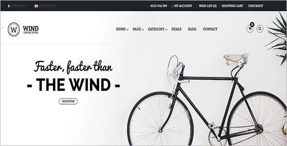 Abstrack Opencart Store template