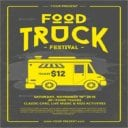 Abstract Food Truck Flyer