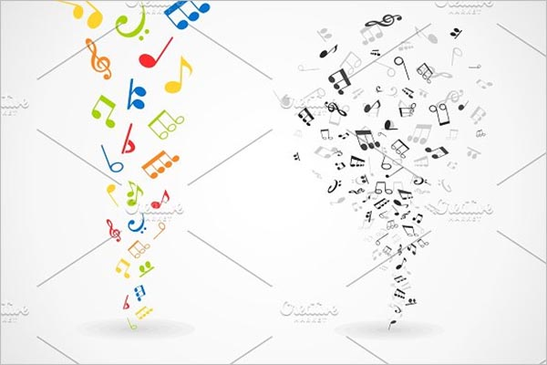 Abstract Music Icon Design