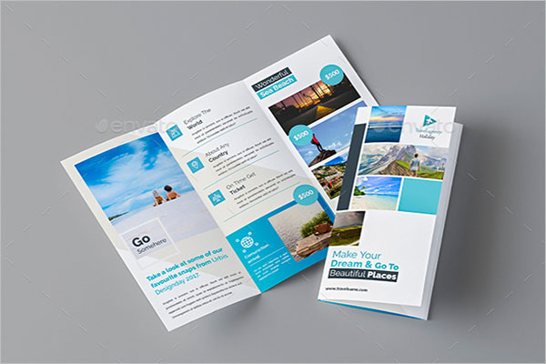 Adventure Travel Brochure Template