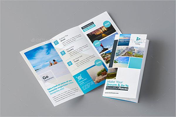 Adventure Travel Brochure Template