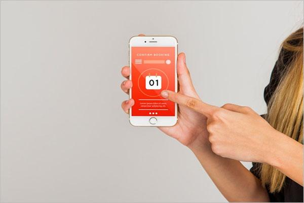App Screen Mockup Design