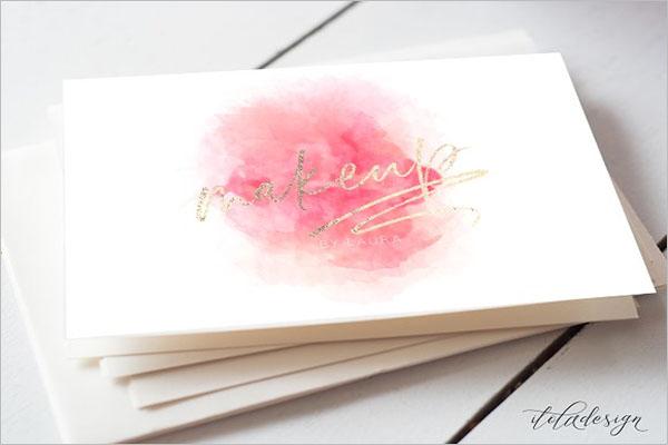 Artist Business Card Design