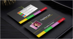 42+ Artist Business Card Designs