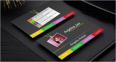Artist Business Card Designs