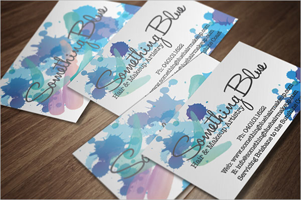 Artist Business Card Example