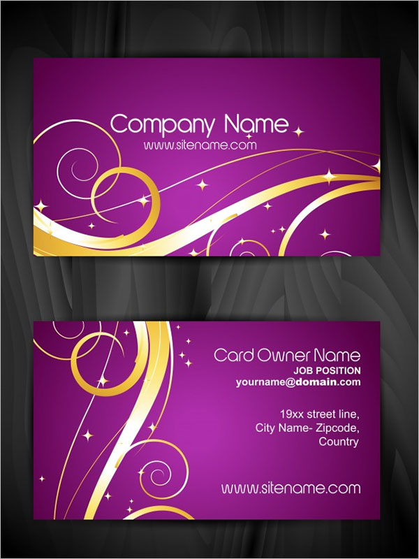 Artistic Business Card Free Download
