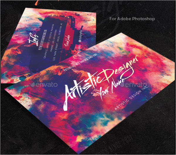 Artistic Designer Pack Business Card