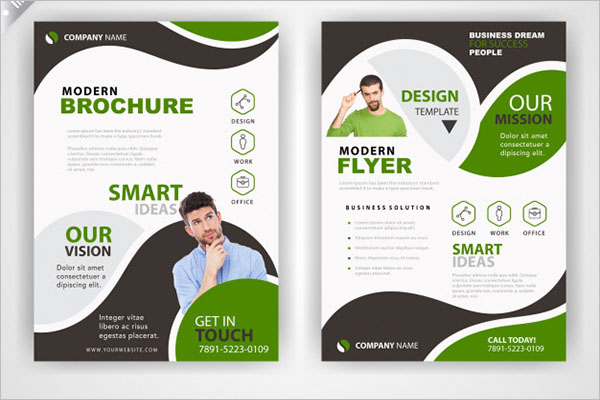 Back & Font Flyer Template