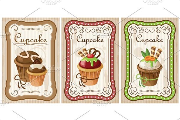 Bakery Cake Poster Template
