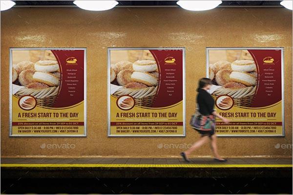 Bakery Poster Design Ideas