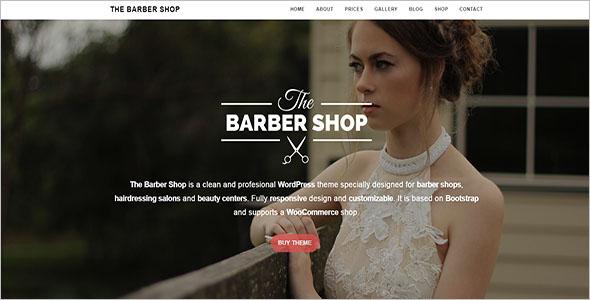 Barber Shop WordPress Theme