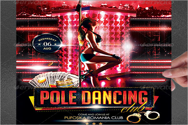 Beautiful Pole Dancer Poster