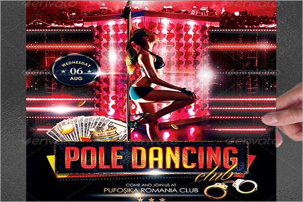 Beautiful Pole Dancer Poster