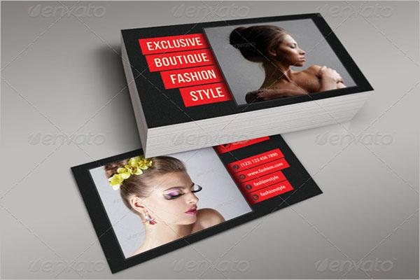 Beauty Boutique Business Card