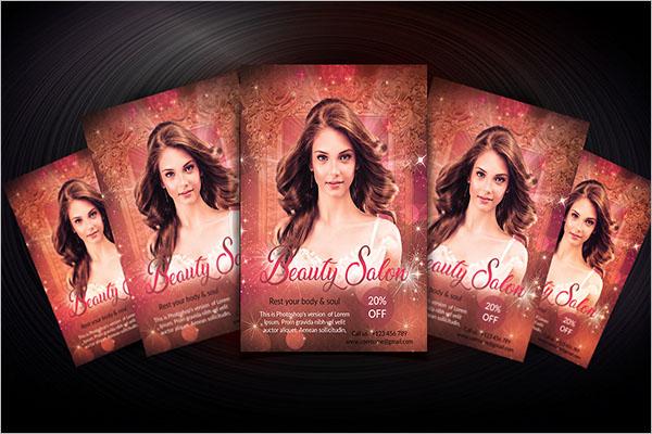 Beauty Salon Flyer Design