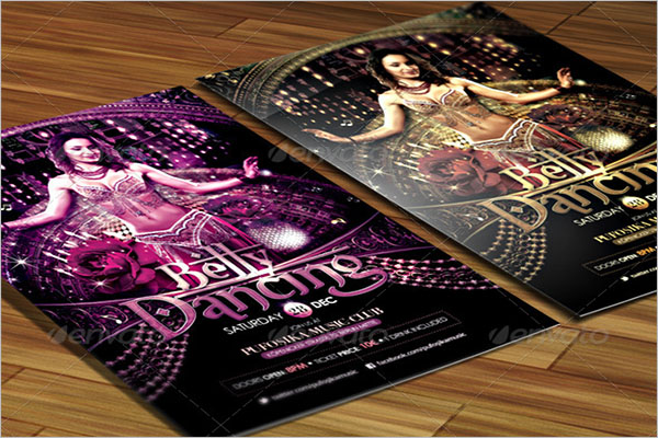 Belly Dancing Poster Template