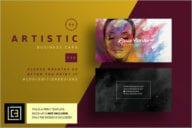 Best Artist Business Card Design
