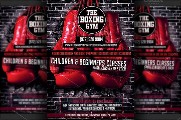 BestBoxing Flyer Designs