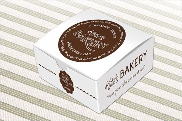 Best Cake Box Mockup