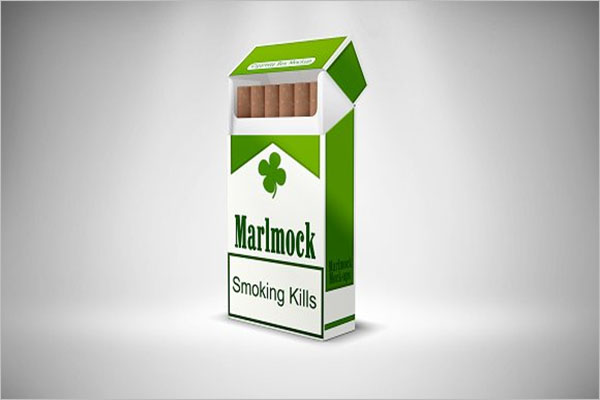 Best Cigarette Package Mockup