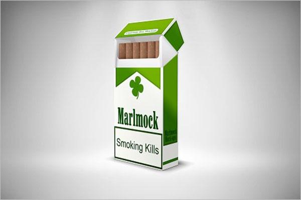 Best Cigarette Package Mockup