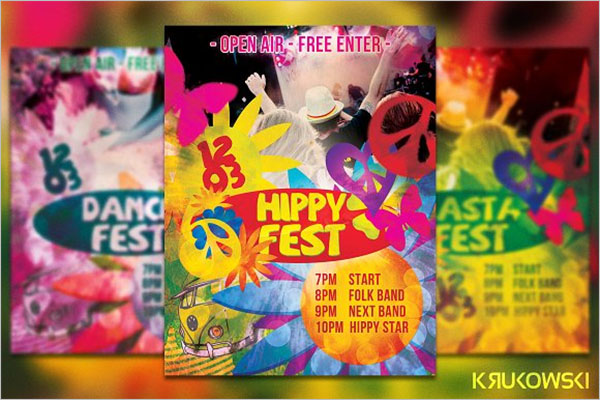Best Dance Party Poster Templates
