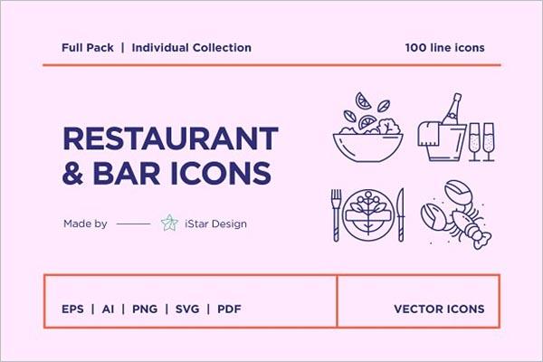 BestFood Icon Design
