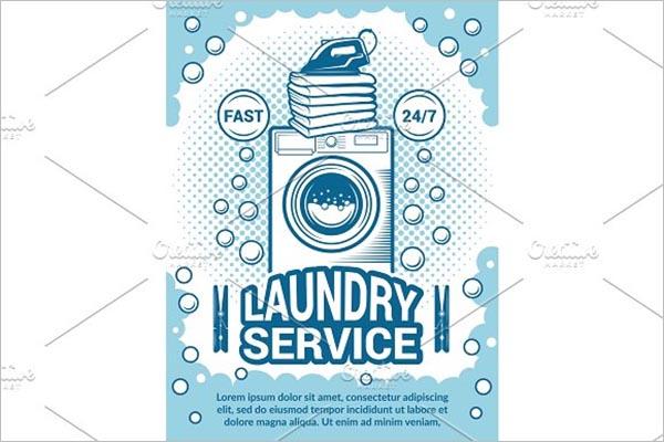 Best Laundry Poster Design