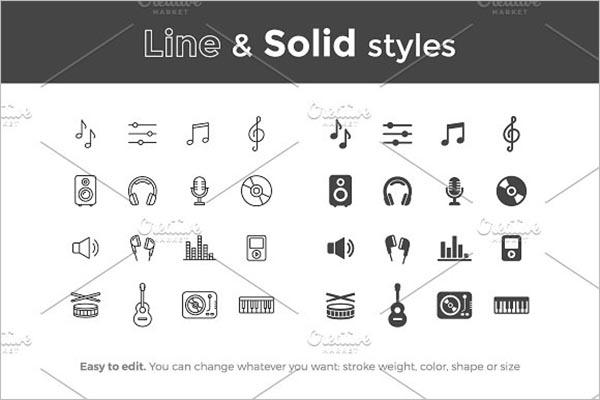 Best Music Icons Design