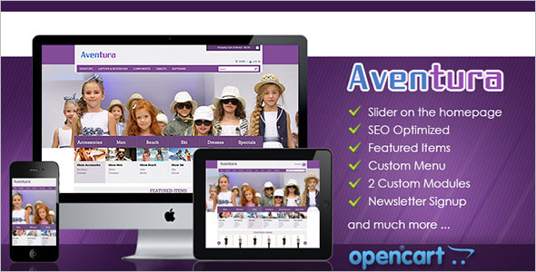 Best OpenCart eCommerce Template