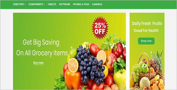 Best Organic Opencart Theme