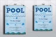 Best Pool Party Flyer Design
