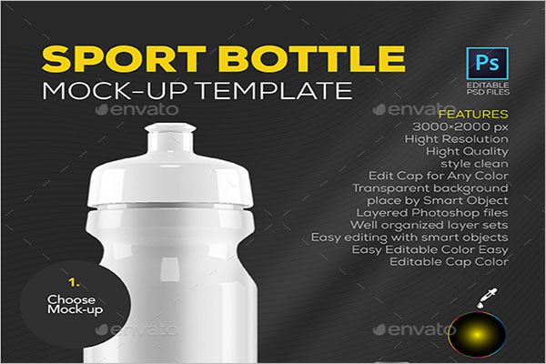 Best Sport Bottle Mockup