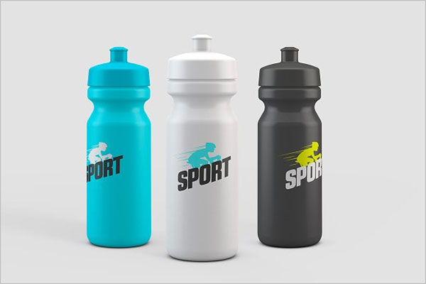 Best Sports Bottle Mockup