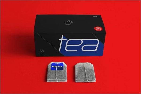 Best Tea Box Mockup